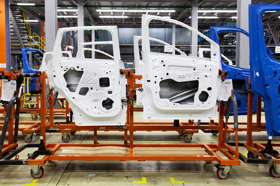 Автоконцерны наращивают экспорт российских компонентов