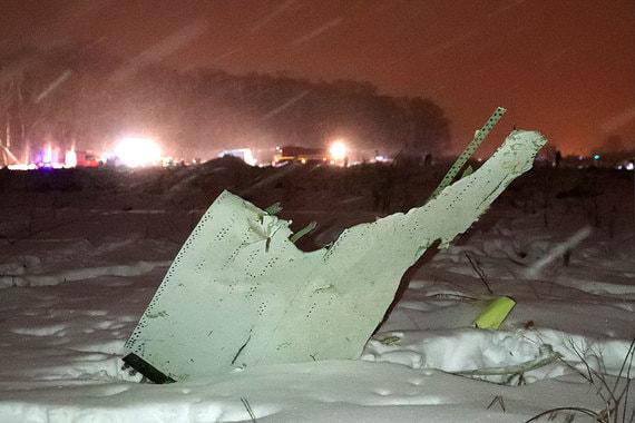 В катастрофе с Ан-148 в Подмосковье погиб 71 человек