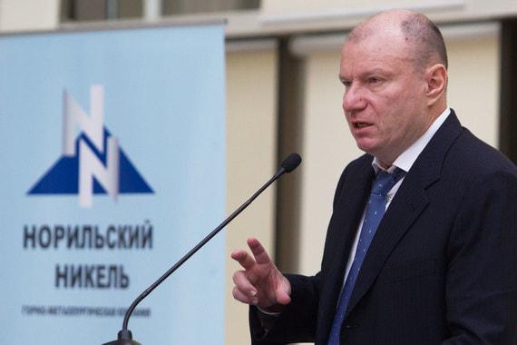 Потанин продолжает скупать акции «Норникеля»