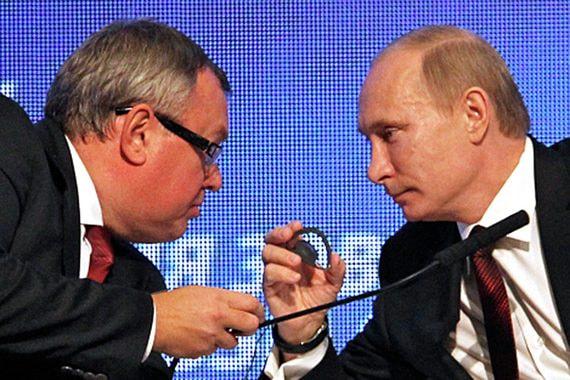 Костин просит Путина помочь создать лидера зернового рынка