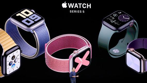 В России резко выросли продажи Apple Watch