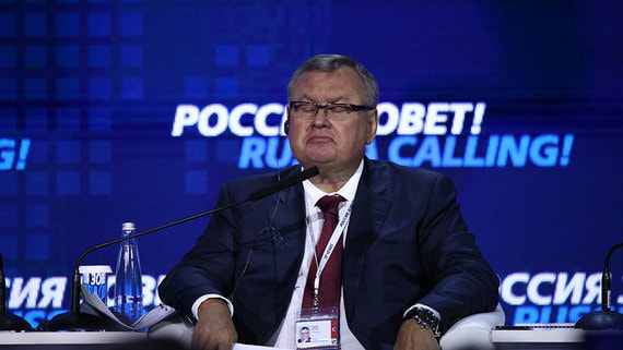 Костин прокомментировал возможность покупки ВТБ «Тинькофф банка»