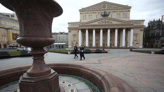 В Москве выручка театров и музеев упала на 70%