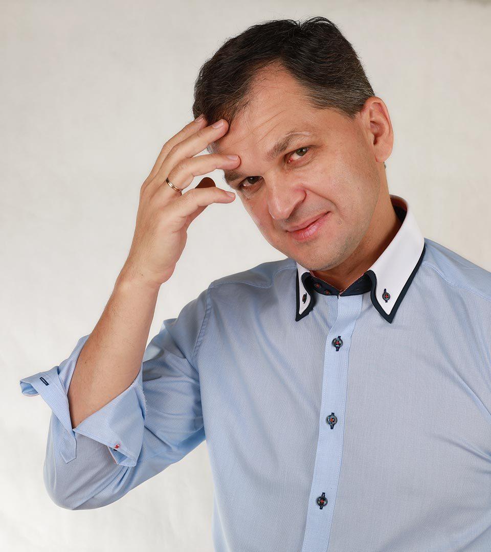 Михаил Оверченко, редактор отдела международных новостей