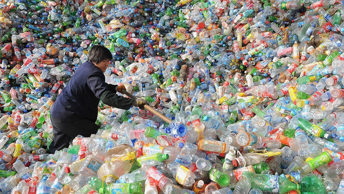 Массовое производство и использование пластика – одна из острейших экологических проблем