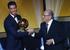 Криштиану Роналду был признан лучшим футболистом мира по версии FIFA в третий раз и второй год подряд