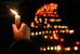 Акция в память о погибших в результате обстрела Мариуполя в Киеве