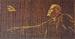 Панно «В.И.Ленин»                                      1970 г. Изготовлено к 100-летию со дня рождения Ленина. Забраковано приемной комиссией из-за идеологических и анатомических ошибок. Материал: янтарь. Музей Калининградского янтарного комбината. Размер 75*150 см.