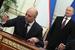 Министр финансов Антон Силуанов и президент России Владимир Путин