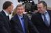 Олег Дерипаска («Базовый элемент»), Владимир Евтушенков (АФК «Система») и Сулейман Керимов («Нафта Москва»)