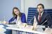 Модераторы первой сессии Мария Дранишникова и Алексей Литвяков