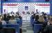 Участники второй дискуссии Сергей Шуляк, Виктор Дмитриев, Лариса Пак, Василий Бойцов, Владислав Шестаков, Елена Бричева.