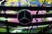 Mercedes-Benz GLA, расписанный уличным художником Тьерри Гетта