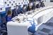 Участники третьей дискуссии Мария Дранишникова, Давид Мелик-Гусейнов, Иван Глушков, Мальвина Холовня, Дмитрий Кузнецов, Ян Власов, Владимир Емельянов.