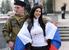 Митинг в Симферополе у  здания парламента Крыма
