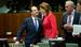 Президент Франции Франсуа Олланд и премьер-министр Словении Аленка Братушек
