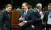 Премьер-министр Великобритании Дэвид Кэмерон и премьер-министр Португалии Педро Пассос Коэльо