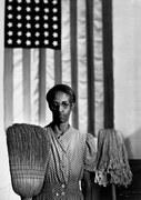 Американская готика. Вашингтон, округ Колумбия. 1942