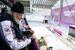 Патриарх Московский и всея Руси Кирилл во время посещения санно-бобслейной трассы в Сочи
