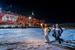 19 октября, Северный полюс                                          Доктор наук физической океанографии Йонсон Стейнгримур (Исландия) с факелом во время эстафеты олимпийского огня на Северном полюсе