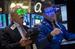 Трейдеры на Нью-Йоркской бирже