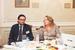 Андрей Гусев, управляющий партнер, юридическая фирма «Борениус» и Анна Щербакова, главный редактор, «Ведомости», Санкт-Петербургский выпуск