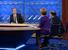 Дмитрий Медведев дает интервью. Справа налево - Сергей Брилев (ВГТРК) и Марианна Максимовская (РЕН)
