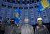 У здания правительства Украины, 2 декабря