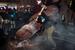 8 декабря, протестующие снесли памятник Ленину