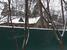 Дом приемов МВД «Русичи» трудно разглядеть за высоким забором