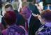 Владимир Путин на новогоднем приеме во дворце культуры в Хабаровске