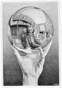 Рука с зеркальной сферой. 1935