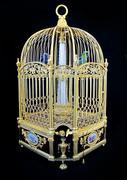 Клетка-автоматон с «поющими» птицами,  XVIII век