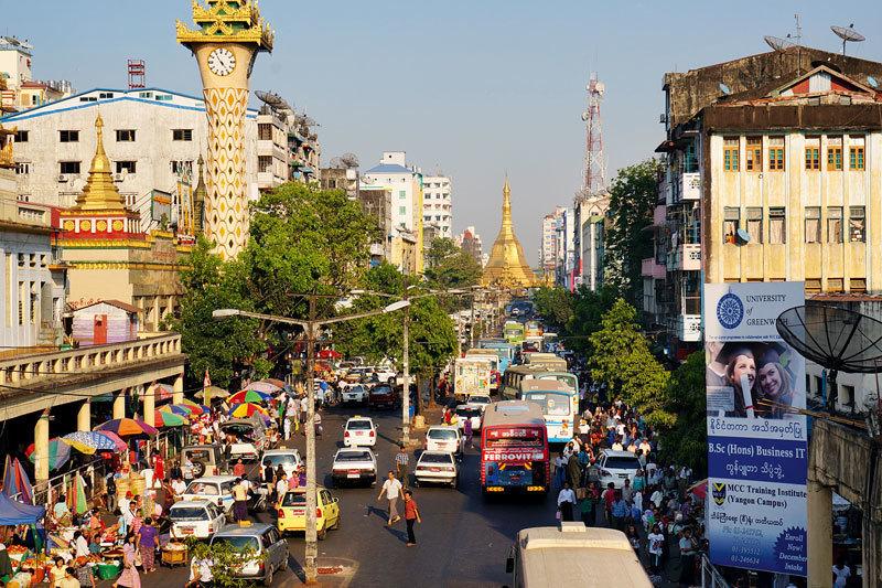 Янгон – в недавнем прошлом столица Мьянмы