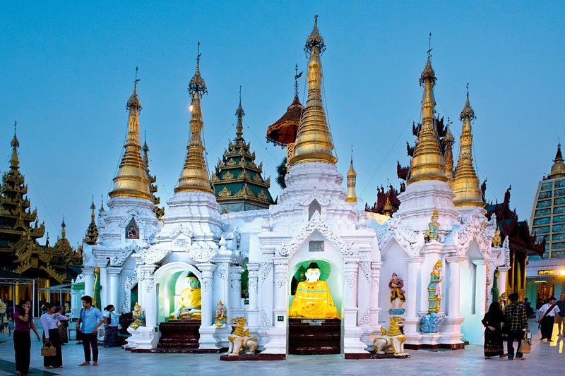 Ступа Шведагон в Янгоне