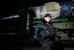 """Транспортировка ракеты-носителя """"Союз-ФГ"""" с олимпийской символикой Сочи-2014"""