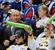 Владимир Путин с юными болельщиками на хоккее