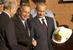 Мэр Нью-Йорка Майкл Блумберг и президент России Владимир Путин, 2003 г.