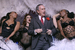 "Мэр Нью-Йорка Майкл Блумберг  с актерами бродвейского мюзикла ""Чикаго"""