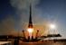 """Запуск ракеты """"Союз-ФГ"""" с олимпийским огнем на борту с космодрома """"Байконур"""""""