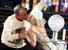 Певица Леди Гага и мэр Нью-Йорка Майкл Блумберг встречают Новый год, 31 декабря 2011 г.