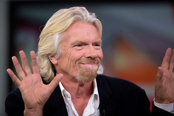 2 место: Ричард Брэнсон                      Основатель и председатель совета директоров Virgin Group. №272 в мировом списке миллиардеров Forbes с состоянием $4,6 млрд по оценке на март 2013 г.