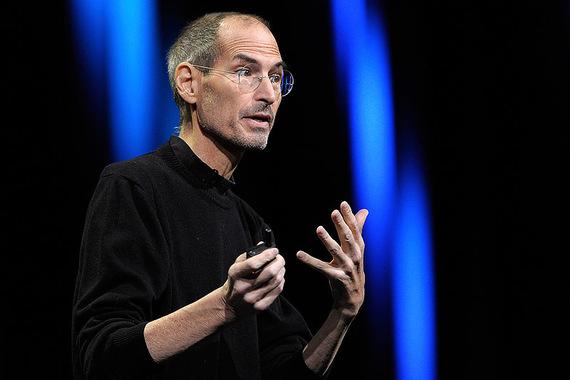 1 место: Стив Джобс (24 февраля 1955 г. - 5 октября 2011 г.)                      Сооснователь Apple