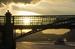 """Пушкинский                                          Пушкинский мост находится совсем не там, где станция метро """"Пушкинская"""": он соединяет Пушкинскую набережную с Фрунзенской. Пешеходный мост был открыт в сентябре 1999 г."""