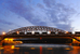 Лужнецкий                                          Лужнецкий железнодорожный мост также называют новым Краснолужским. Он построен между Лужниками и Бережковской набережной в 2001 г.