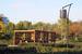 """""""Садовники"""", 2014 г.                                          Создан в 1989 г. на месте большого пустыря вдоль проспекта Андропова в Южном округе Москвы на территории 33,5 га.  В конце 2013 г. британское архитектурное бюро LDA Design придумало концепцию обновленного парка. В результате реконструкции в парке было поведен ремонт дорожек и тропинок, главного павильона и террас, обустроено освещение. В парке также появились беговой и велосипедный маршруты, велопарковки, лыжная трасса и скейт-парк. Обновленный парк открылся в сентябре 2014 г."""