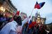 Антиукраинский митинг в Милане