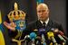Пресс-конференция контр-адмирала ВМС Швеции Андерса Гренстада