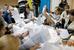 Подсчет голосов на одном из избирательных участков в Киеве