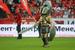 Гладиатор в Тушине везде: перед входом на стадион водружена 23-метровая статуя гладиатора, вот гладиатор-маскот ходит по полю, он на билетах и абонементах, пресс-аккредитациях и программках к матчу.